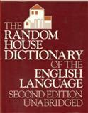The Random House Dictionary of the English Language, Dictionary, 0394500504