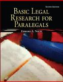 Basic Legal Research for Paralegals, Nolfi, Edward A., 0073520519