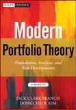 Modern Portfolio Theory + Website