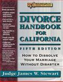 Divorce Handbook for California, James W. Stewart, 1886230528