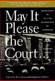 May It Please the Court, Peter H. Irons, 1565840526