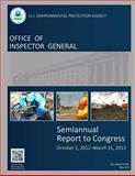 Office of Inspector General: Semiannual Report to Congress: October 1, 2012-March 31 2013, U. S. Environmental Agency, 1500550523