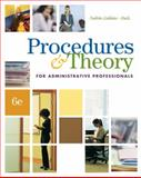 Procedures & Theory for Administrative Professionals, Fulton-Calkins, Patsy and Stulz, Karin M., 0538730528