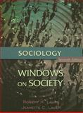 Sociology: Windows on Society : An Anthology, Lauer, Robert H. and Lauer, Jeanette C., 0195330528