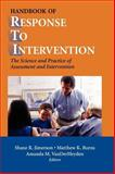 Handbook of Response to Intervention : The Science and Practice of Assessment and Intervention, , 0387490523
