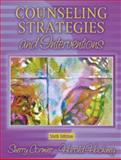 Counseling Strategies and Interventions, Cormier, Sherry and Hackney, Harold, 0205370527