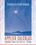 Applied Calculus, Hughes-Hallett, Deborah, 0470170530