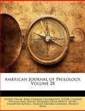 American Journal of Philology, Tenney Frank and Basil Lanneau Gildersleeve, 1144730538