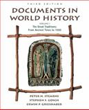 Documents in World History, Stearns, Peter N. and Gosch, Stephen S., 0321100530