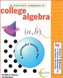Companion to College Algebra, McKeague, Charles P. and Burzynski, Denny, 1580320538