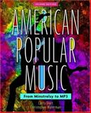 American Popular Music : From Minstrelsy to MP3, Starr, Larry and Waterman, Christopher, 019530053X