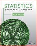 Statistics, Witte, Robert S. and Witte, John S., 1118450531