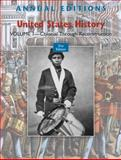 United States History : Colonial Through Reconstruction, Maddox, Robert, 0078050545