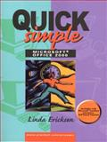 Quick Simple Microsoft Office 2000, Ericksen, Linda, 013011054X