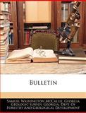 Bulletin, S. W. McCallie, 1144110548