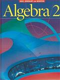 Algebra 2, Holt, Rinehart and Winston Staff, 0030660548