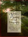 Writing Clear Paragraphs, Donald, Robert B., 0131020544