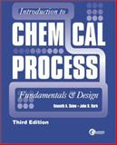 Introduction to Chemical Process, Solen, Ken, 0071540547