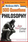 500 College Philosophy Questions to Know by Test Day, Newman, Micah and Bos, Timothy, 0071780548