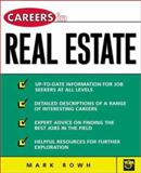 Careers in Real Estate, Rowh, Mark, 0658000543