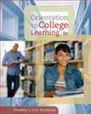 Orientation to College Learning, Van Blerkom, Dianna L., 0495570540