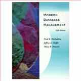 Modern Database Management, McFadden, Fred R. and Hoffer, Jeffrey A., 0805360549