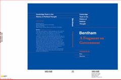 Bentham : A Fragment on Government, Hart, Herbert L. and Harrison, Ross, 0521350549