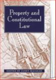Property and the Constitution, McLean, Janet, 1841130559