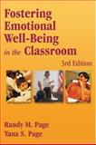 Fostering Emotional Well-Being in the Classroom, Page, Randy M. and Page, Tana S., 076370055X