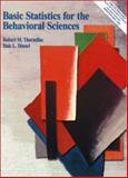 Basic Statistics for the Behavioral Sciences, Thorndike, Robert M. and Dinnel, Dale L., 013861055X
