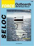 Force Outboards, All Engines, 1984-99, Coles, Clarence and Coles, Joan, 0893300551