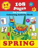 Spring, Alex Fonteyn, Creative Activities, Drawing and Painting, Educational Workbook, 1623210550