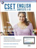 CSET English Subtests I-IV, Allen, John and Research and Education Association Editors, 0738610550