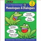 Monologues and Dialogues Grade 1 with Audio CD : Independent Fluency Practice Passages, n/a, 1607190567