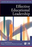 Effective Educational Leadership, , 0761940561