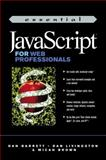 Essential Java Script for Web Professionals, Barrett, Dan and Brown, Micah, 0130130567