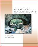 Algebra for College Students, Miller, Julie and O'Neill, Molly, 0072880562