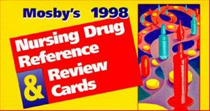 Mosby's 1999 Nursing Drug Reference and Review Cards, Albanese, Joseph A. and Nutz, Patricia A., 0815120567