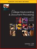 Gregg College Keyboarding and Document Processing, Ober, Scot and Johnson, Jack E., 0077260562