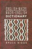 English-Maori Maori-English Dictioinary, Biggs, Bruce, 1869400569