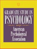 Graduate Study in Psychology : 2004 Edition, American Psychiatric Association Staff, 1591470579