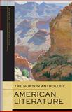 The Norton Anthology of American Literature 9780393930573