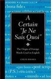 Certain Je Ne Sais Quoi, Chloe Rhodes, 1606520571