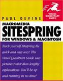 Macromedia Sitespring for Windows and Macintosh, Devine, Paula, 0201770571