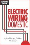 Electric Wiring Domestic, Scaddan, Brian and Coker, A. J., 0750620587