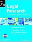 Legal Research, Stephen Elias and Susan Levinkind, 1413300588