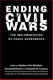 Ending Civil Wars : The Implementation of Peace Agreements, , 1588260585