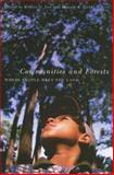 Communities and Forests, Robert G. Lee, 0870710583