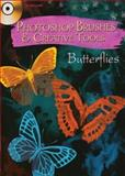 Butterflies - Photoshop Brushes and Creative Tools, Alan Weller, 0486990583