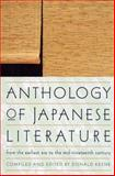 Anthology of Japanese Literature, , 0802150586